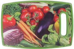 Επιφάνεια – δίσκος κοπής MDF  30Χ20 εκ. με λαβή σχ. λαχανικά 1