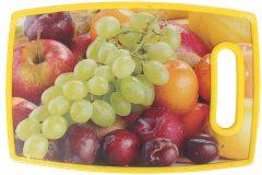 Επιφάνεια – δίσκος κοπής MDF  30Χ20 εκ. με λαβή σχ. φρούτα