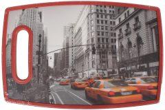Επιφάνεια – δίσκος κοπής MDF  30Χ20 εκ. με λαβή σχ. NEW YORK - Taxi