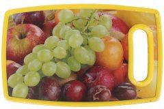 Επιφάνεια – δίσκος κοπής MDF  25Χ16 εκ. με λαβή σχ. φρούτα 2