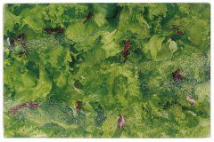Επιφάνεια – δίσκος κοπής γυάλινος  30Χ20 εκ. σχ. λάχανο
