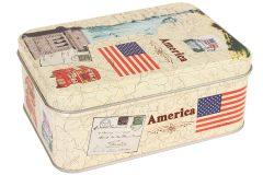 Κουτί μεταλλικό αποθήκευσης 14,5Χ10,5Χ6 εκ.