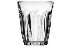 Ποτήρι νερού επαγγελματικό τεμ. 1 γυάλινο 270 ml VAKHOS - 53154