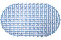 Χαλάκι μπανιέρας αντιολισθητικό 62Χ35 εκ. χρ. Μπλε