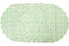 Χαλάκι μπανιέρας αντιολισθητικό 62Χ35 εκ. χρ. Πράσινο